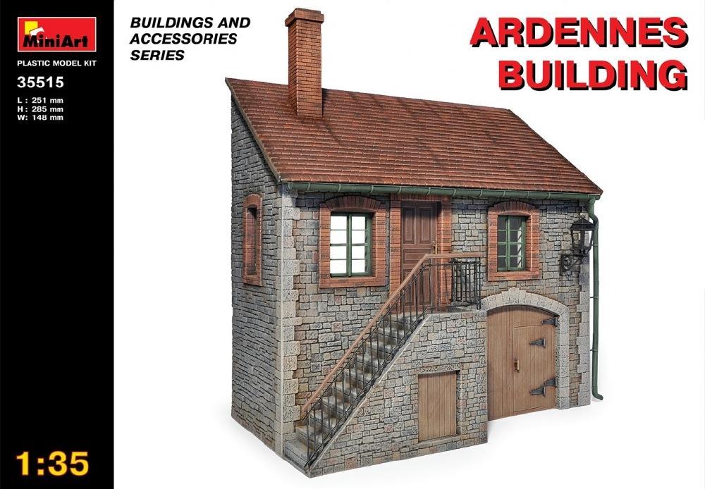 MINIART 35515 Ardennes Building