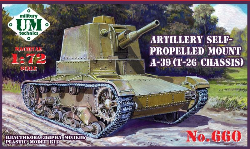 UM-MT 660 Soviet Self-Propelled Gun A-39 (T-26 Chassis)