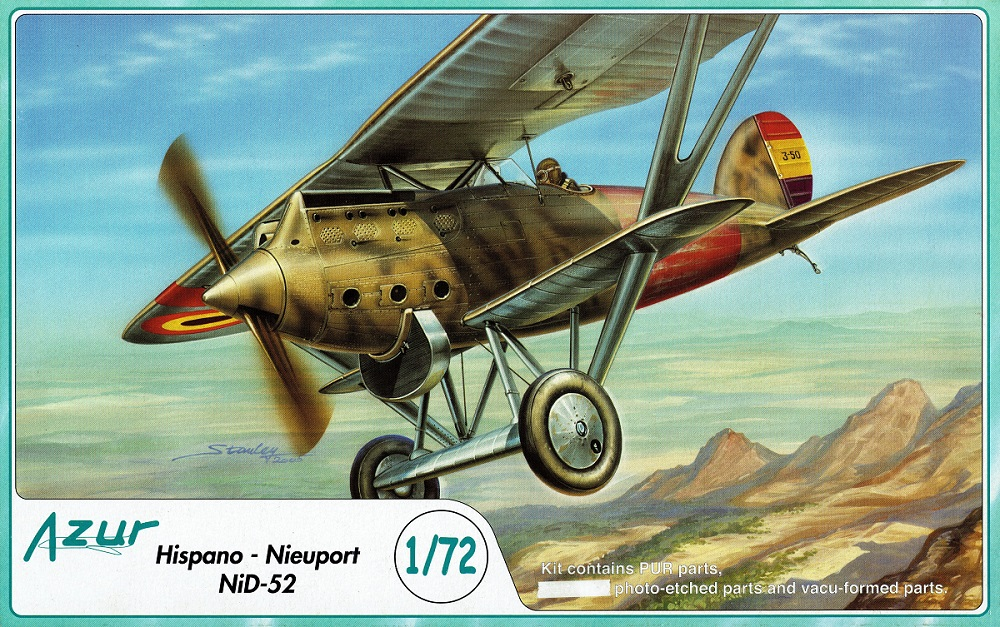 AZUR A041 Hispano-Nieuport NiD-52 (Spanish Civil War)