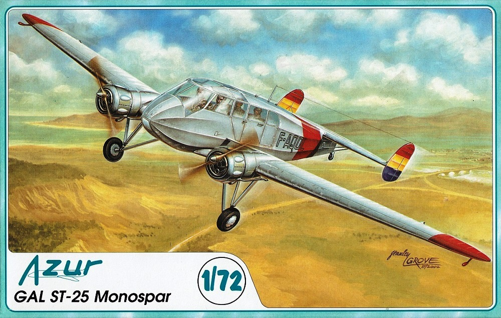 AZUR A034 GAL ST-25 'Monospar' (Spanish Civil War)