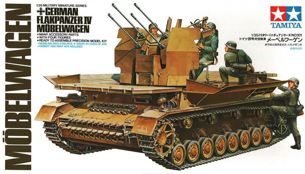 TAMIYA 35101 German Flakpanzer IV 'Möbelwagen' (WWII)