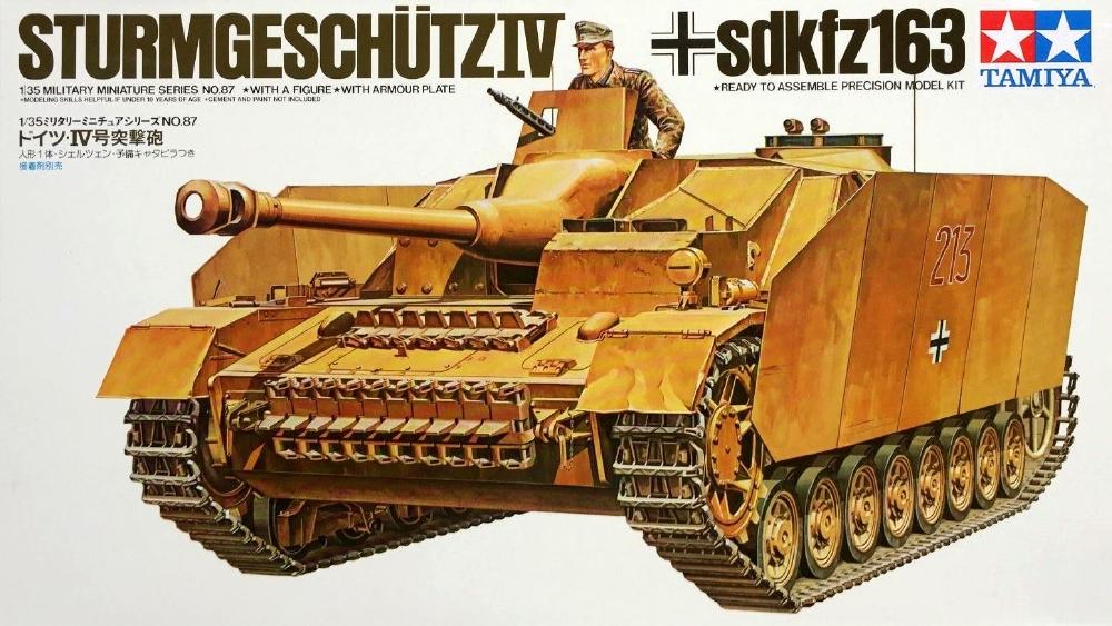 TAMIYA 35087 German Sturmgeschütz IV (Sd.Kfz.163)