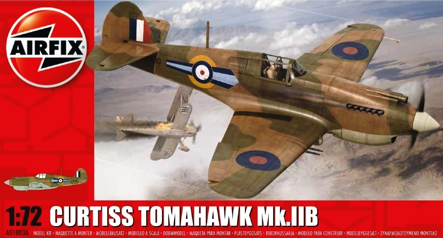 AIRFIX 01003A Curtiss Tomahawk Mk.IIb (WWII)