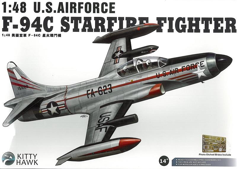KITTYHAWK MODELS 80101 Lockheed F-94C 'Starfire'