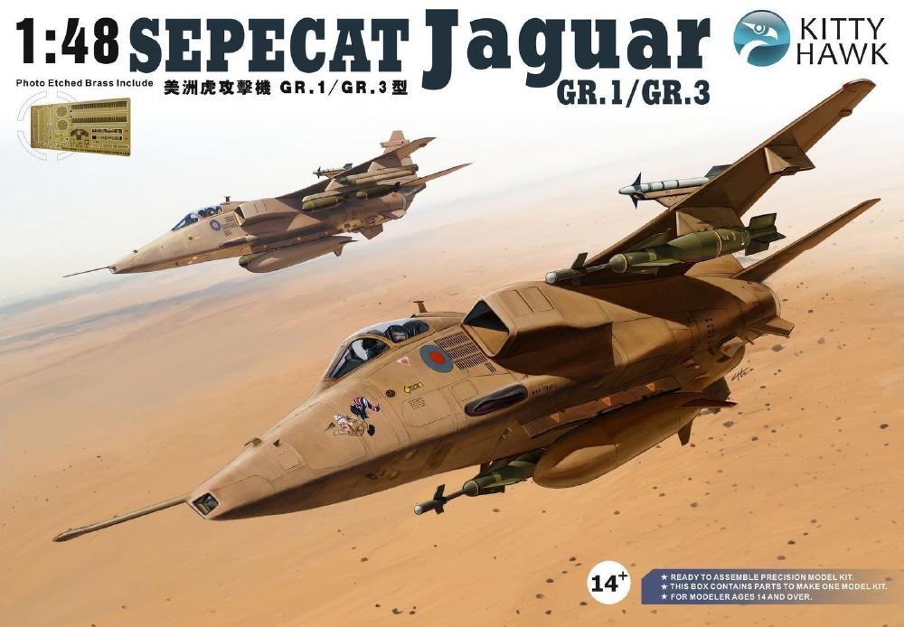 KITTYHAWK MODELS 80106 Sepecat Jaguar GR.1/GR.3