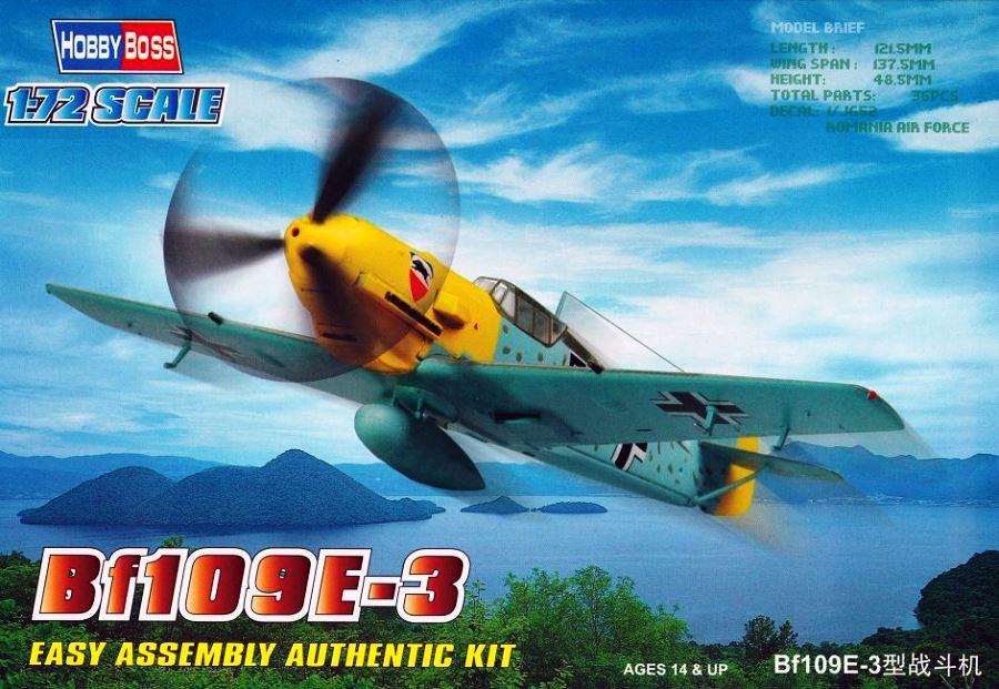 HOBBYBOSS 80253 Messerschmitt Bf 109E-3