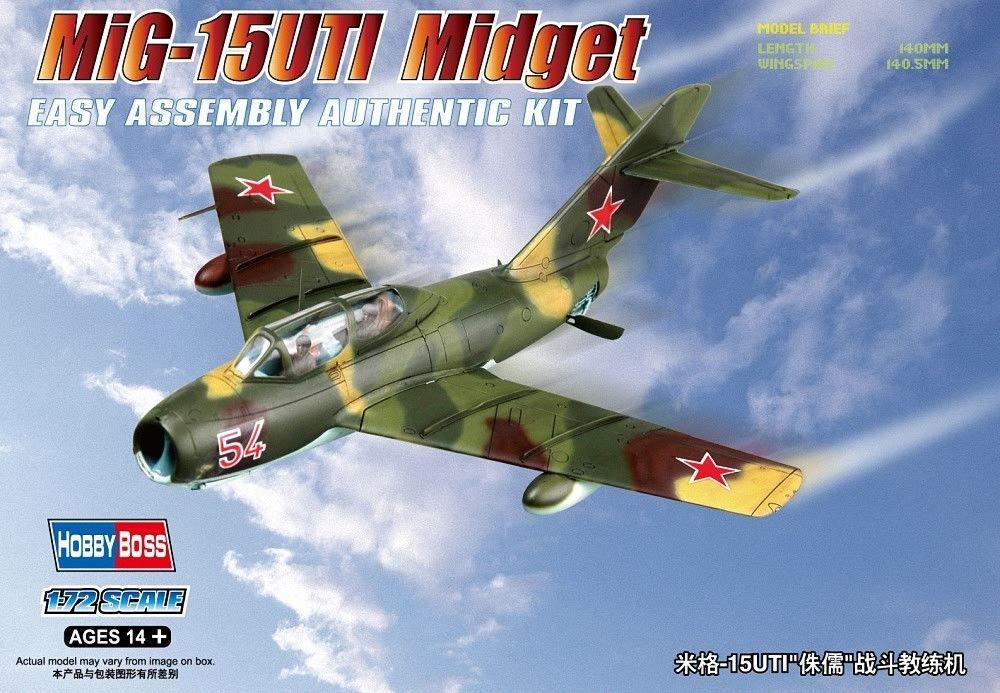 HOBBYBOSS 80262 Mikoyan MiG-15UTI 'Midget'