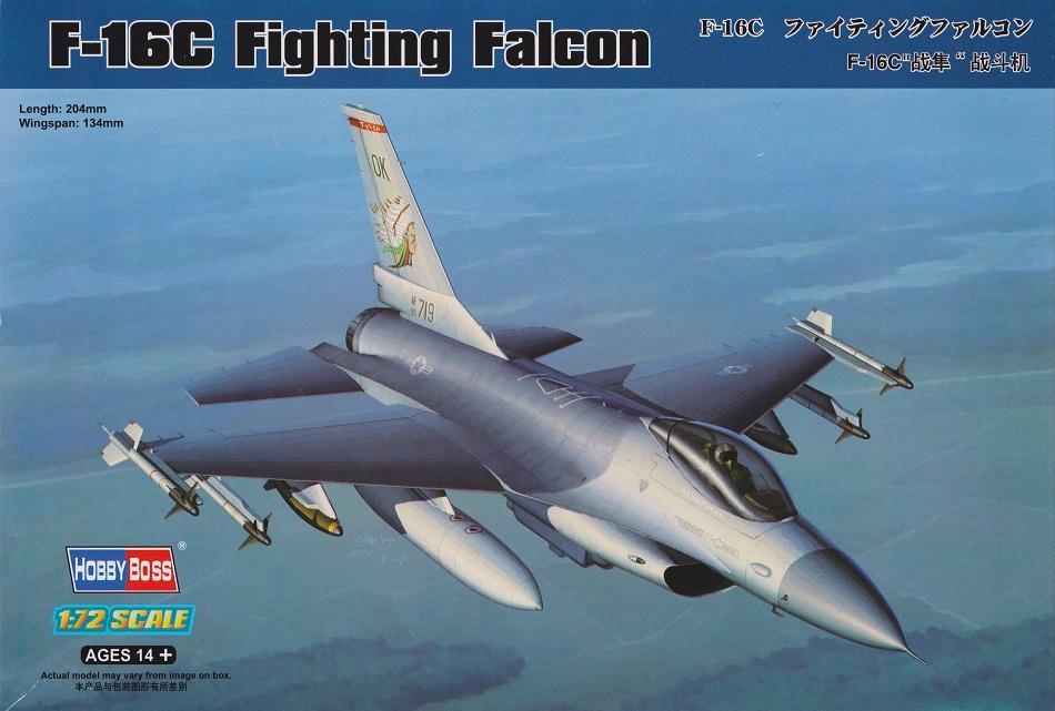 HOBBYBOSS 80274 Lockheed-Martin F-16C 'Fighting Falcon'