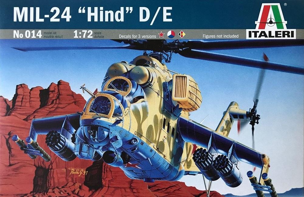 ITALERI 0014 Mil Mi-24 'Hind-D'