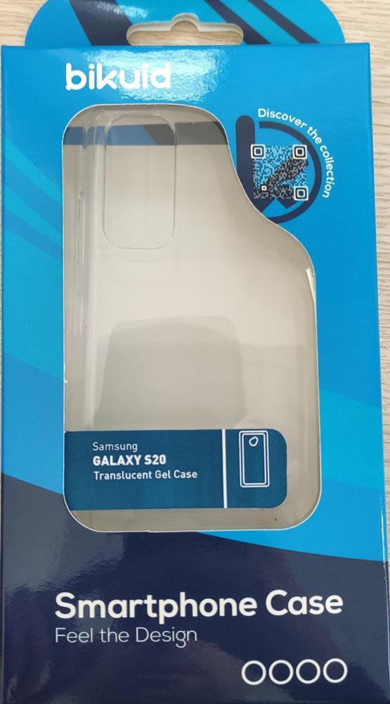 Bikuid Funda Gel Case Transparente Samsung Galaxy S20