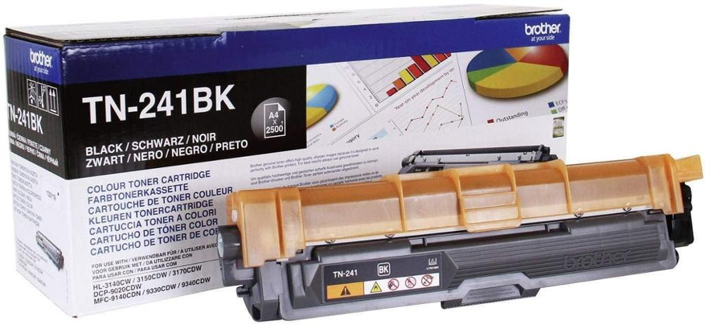 BROTHER TONER TN241BK NEGRO - 2500 PAGINAS