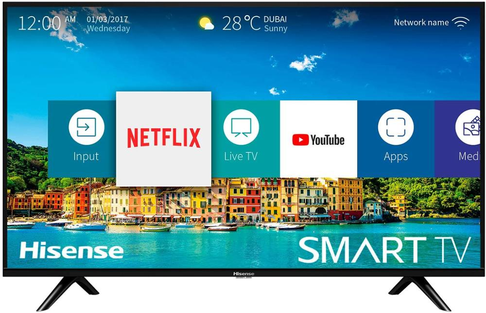 "HISENSE Televisor 32B5600 32"" HD SMART TV"
