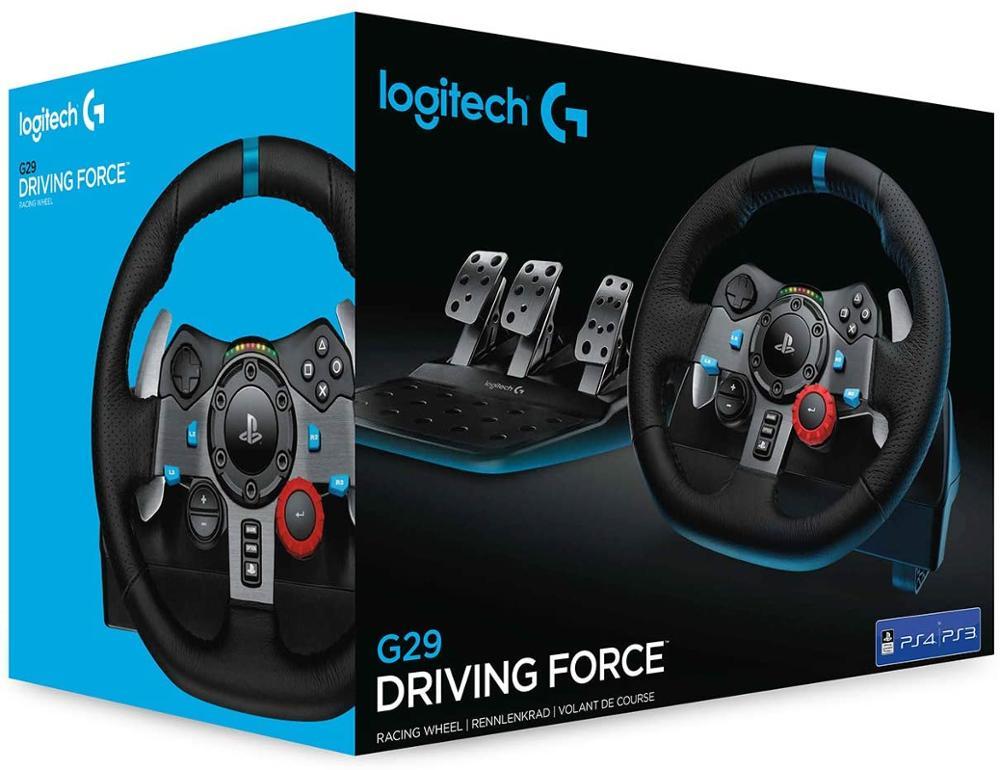 LOGITECH G29 - VOLANTE PARA PS4/PC