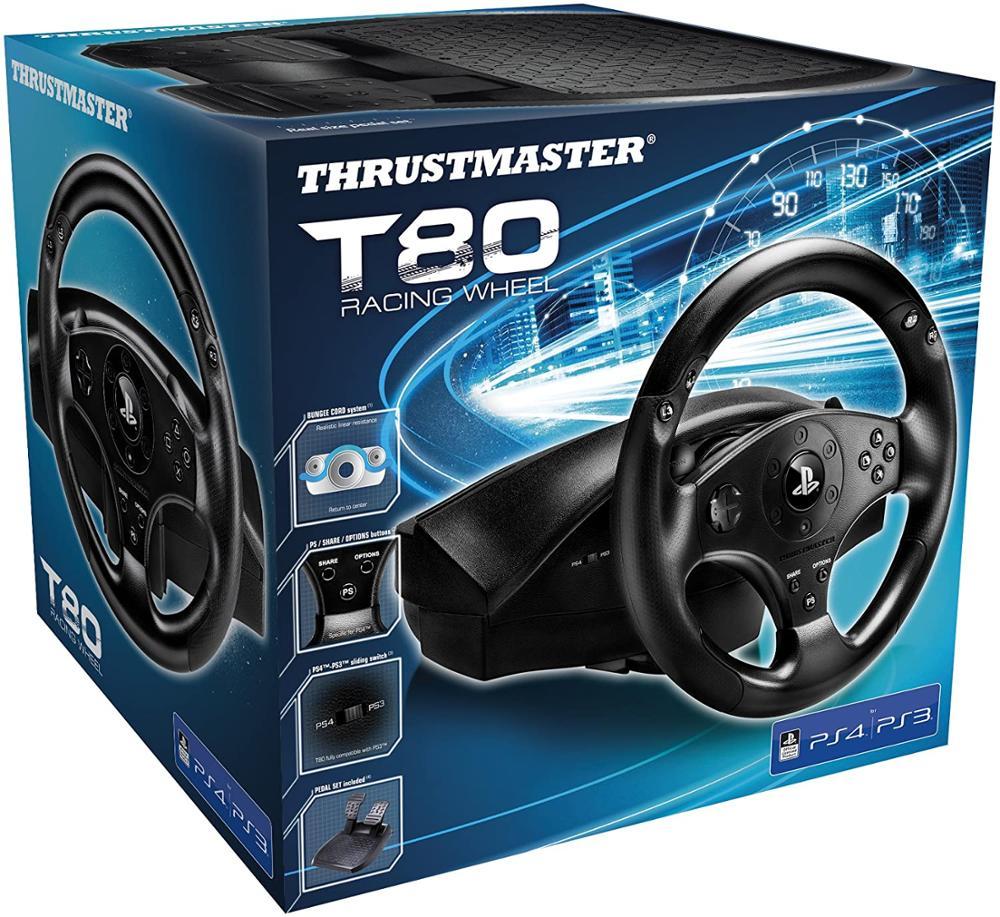 THRUSTMASTER T80 RW - VOLANTE OFICIAL PS4