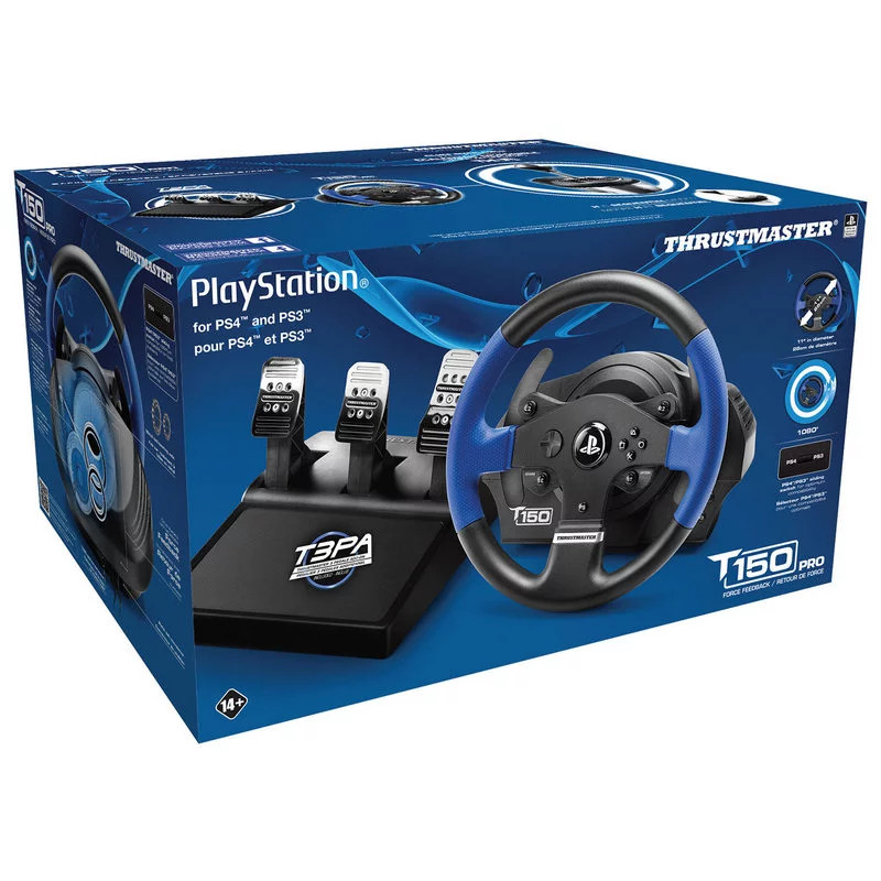 THRUSTMASTER T150 PRO - VOLANTE PROFESIONAL PARA PS4/PC