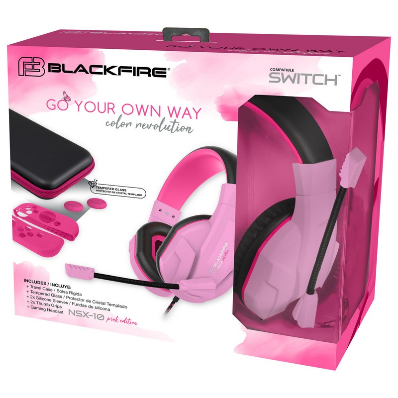 "ARDISTEL PACK BLACKFIRE ""MUST HAVE"" NSX-10 PINK SWITCH EDITION"