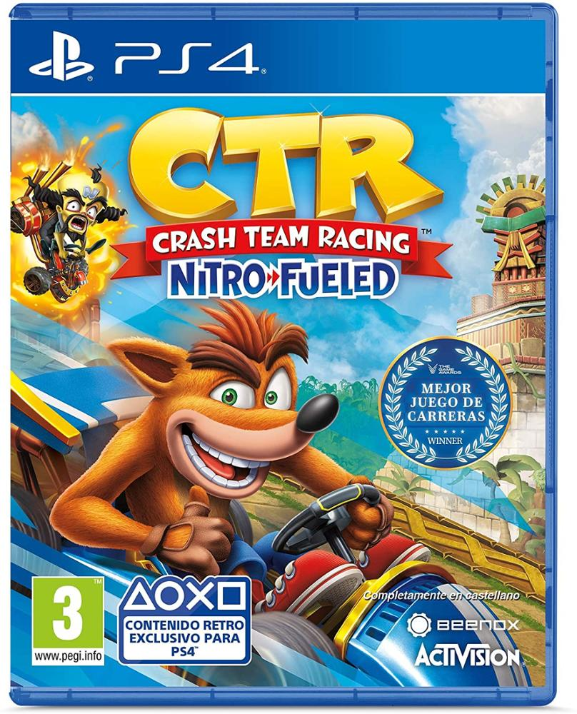 PS4 JUEGO CRASH TEAM RACING NITRO FUELED