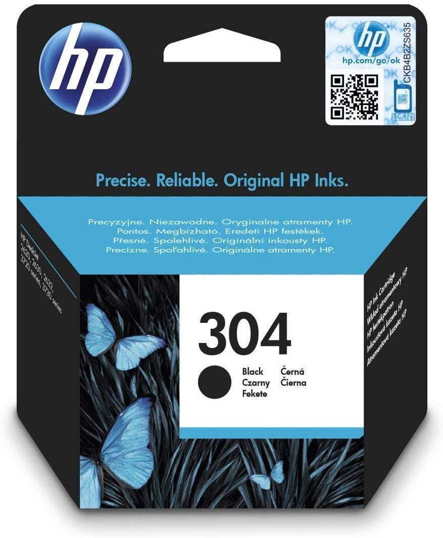 HP 304 CARTUCHO DE TINTA - NEGRO