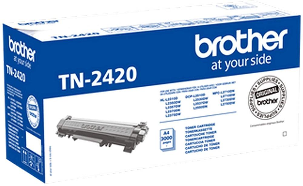 BROTHER TONER TN2420 - NEGRO - 3000 PAGINAS