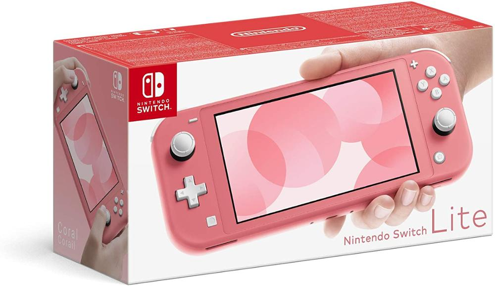 NINTENDO CONSOLA SWITCH LITE - CORAL