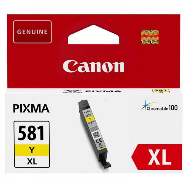 CANON CLI 581 XL CARTUCHO DE TINTA - AMARILLO