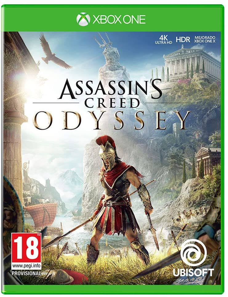 XBOX ONE JUEGO ASSASSINS CREED ODYSSEY