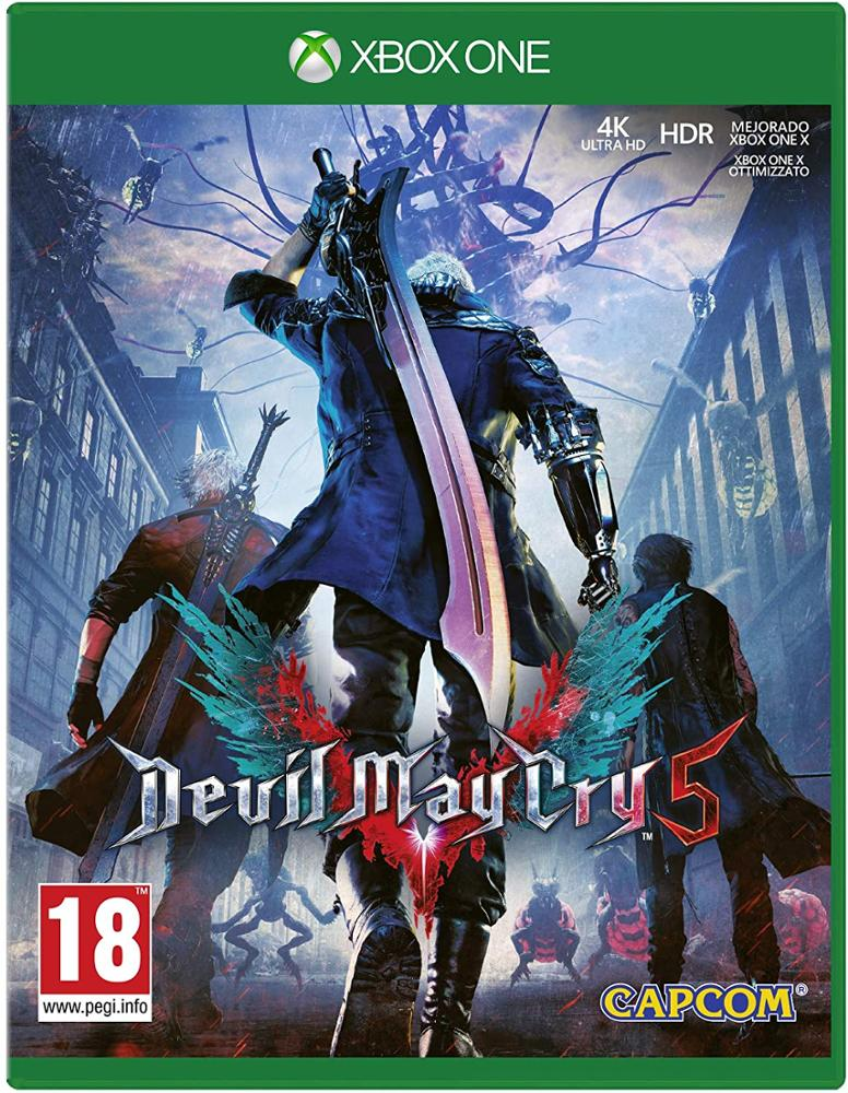 XBOX ONE JUEGO DEVIL MAY CRY 5
