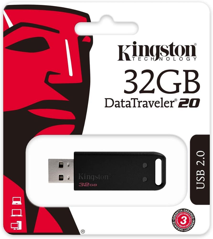 KINGSTON DT20 PENDRIVE 32GB USB2.0