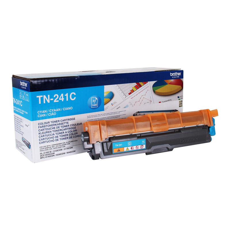 BROTHER TONER TN241C CYAN - 1400 PAGINAS
