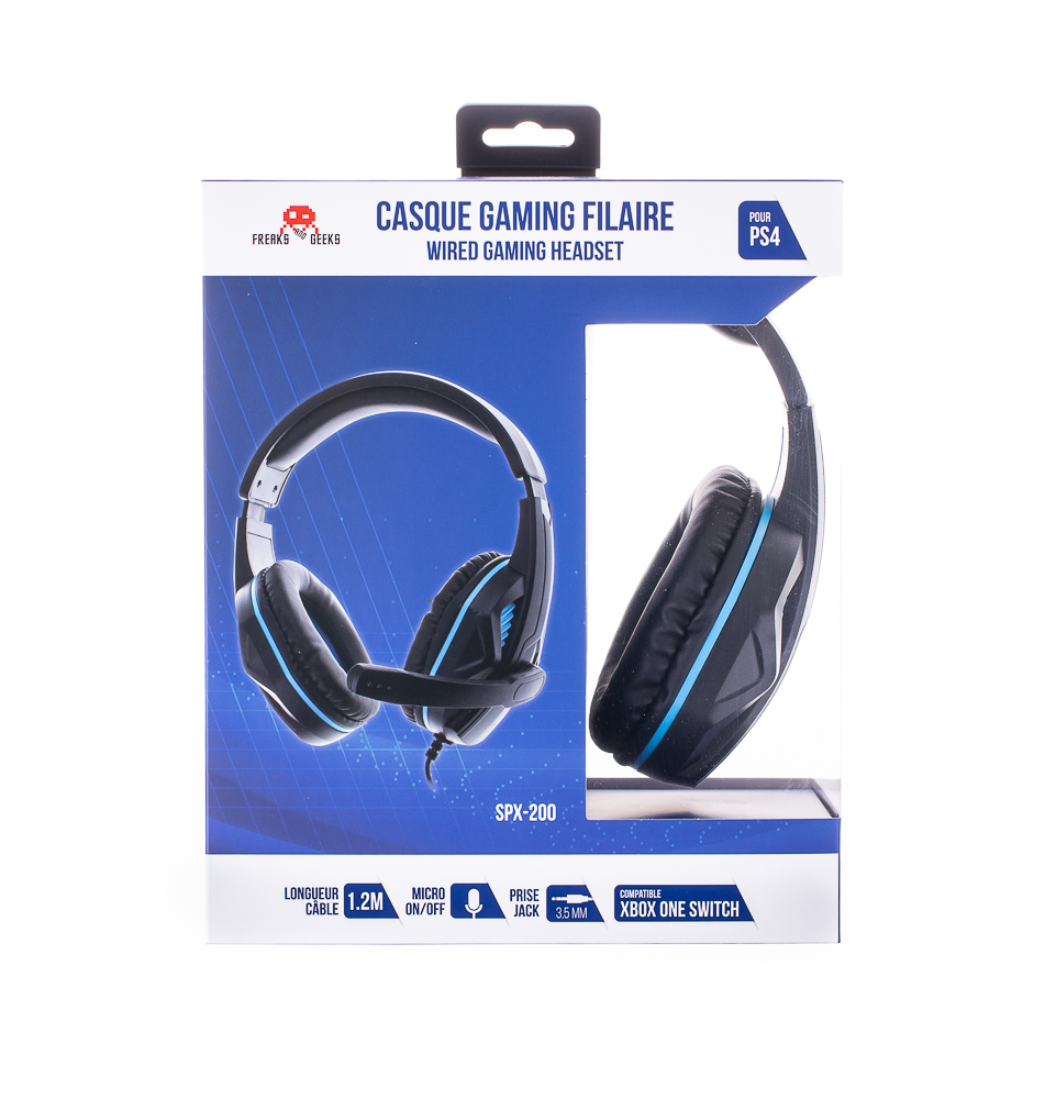 FREAKS & GEEKS AURICULARES GAMING HEADSET V2 PS4 SPX-200