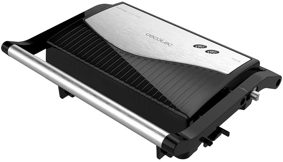 CECOTEC PARRILLA ELECTRICA ROCK'NGRILL 750 FULL OPEN