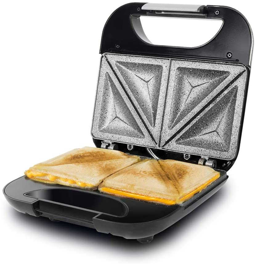 CECOTEC SANDWICHERA ROCK'NTOAST FIFTY-FIFTY