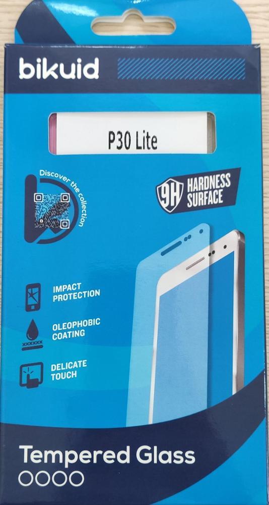 Bikuid Protector pantalla Cristal templado Huawei P30 Lite