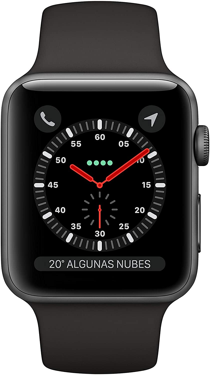 APPLE WATCH SERIE 3 GPS/CELL 42MM GRIS NEGRO