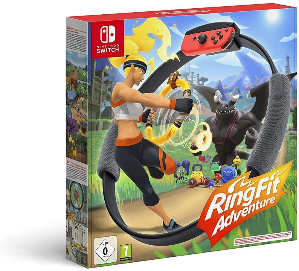 NINTENDO JUEGO SWITCH RING FIT ADVENTURE