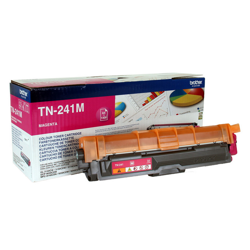 BROTHER TONER TN241M MAGENTA - 1400 PAGINAS
