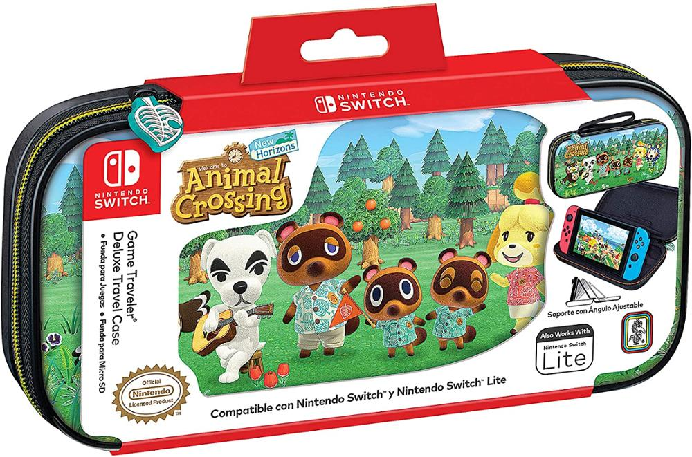 ARDISTEL GAME TRAVELER DELUXE TRAVEL CASE - FUNDA SWITCH - ANIMAL CROSSING NNS39AC