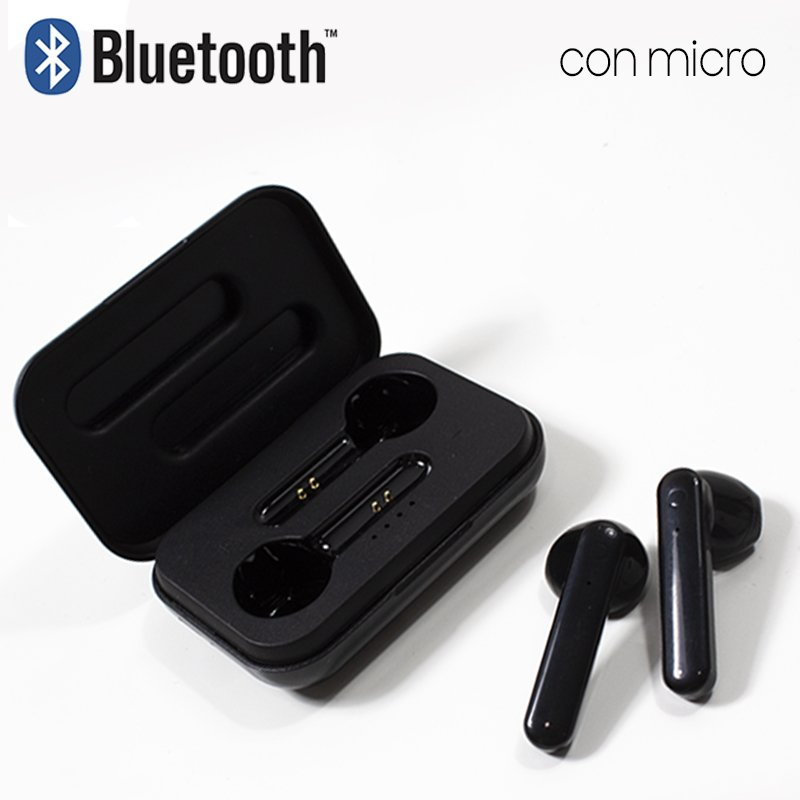 COOL AURICULARES STEREO BLUETOOTH DUAL POD COOL STYLE - NEGRO