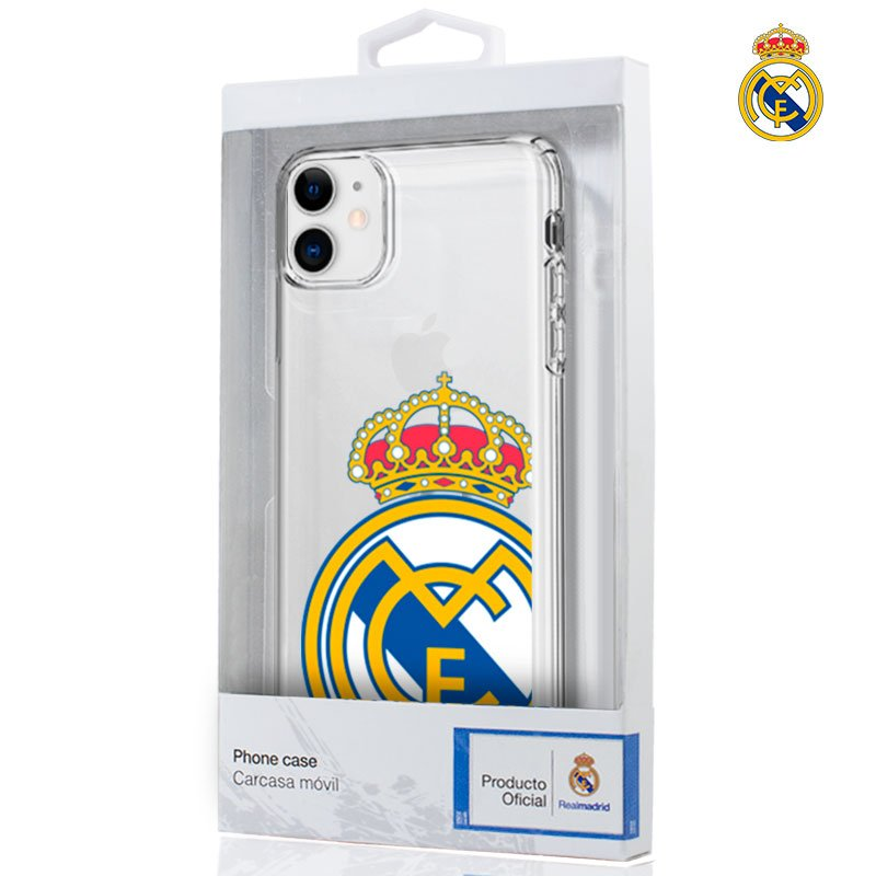 COOL FUNDA IPHONE 11 - REAL MADRID - LICENCIA OFICIAL