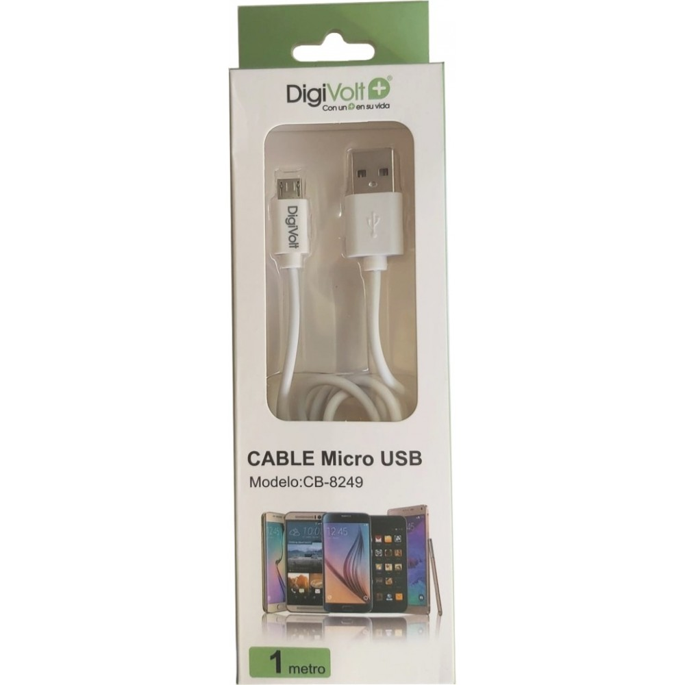 DIGIVOLT CABLE CB-8249 MICRO USB 1 METRO