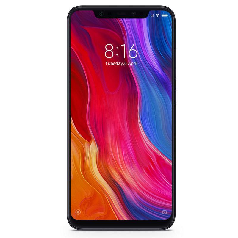 XIAOMI Smartphone MI 8 DUAL SIM 6GB 128GB - NEGRO