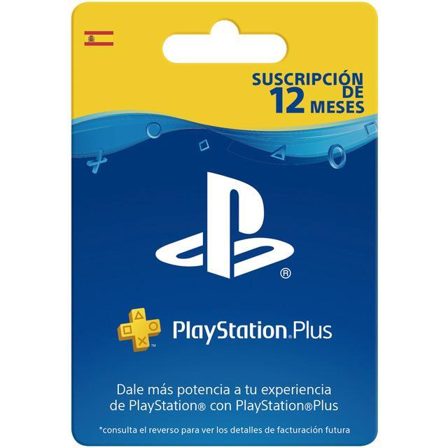 SONY Playstation Plus - Suscripción de 12 Meses