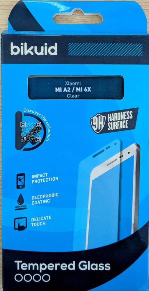 Bikuid Protector Pantalla cristal Templado Xiaomi Mi A2