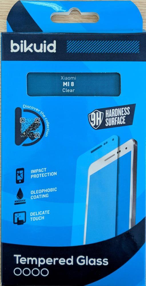 Bikuid Protector Pantalla cristal Templado Xiaomi MI 8