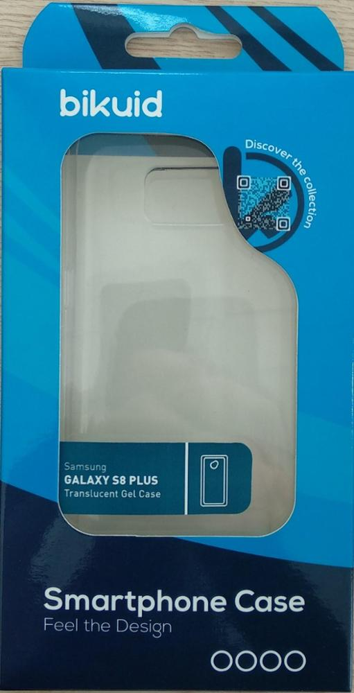 Bikuid Funda Gel Case Transparente Samsung S8+