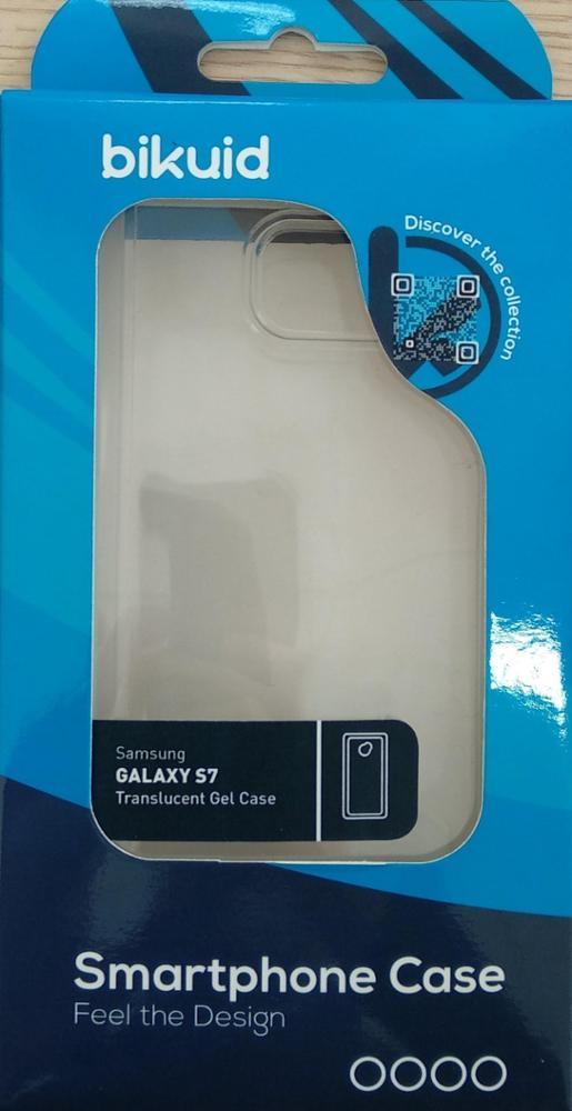 Bikuid Funda Gel Case Transparente Samsung S7