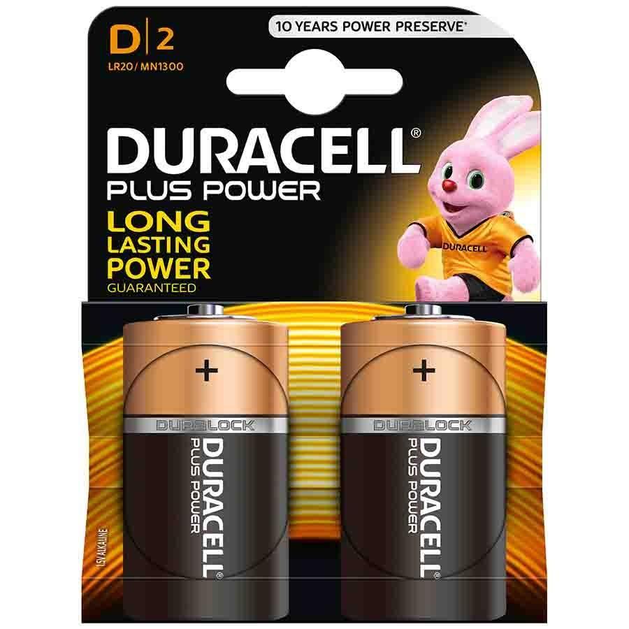 DURACELL - PILAS D LR20 (BLISTER 2 PILAS)