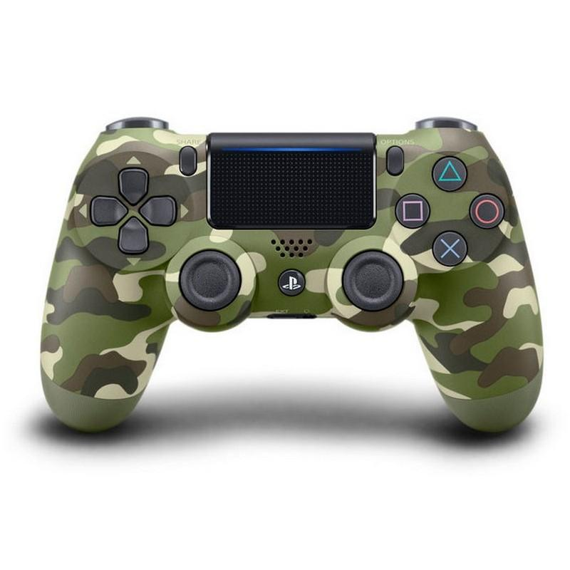 SONY Mando Dualshock 4 Verde Camuflaje