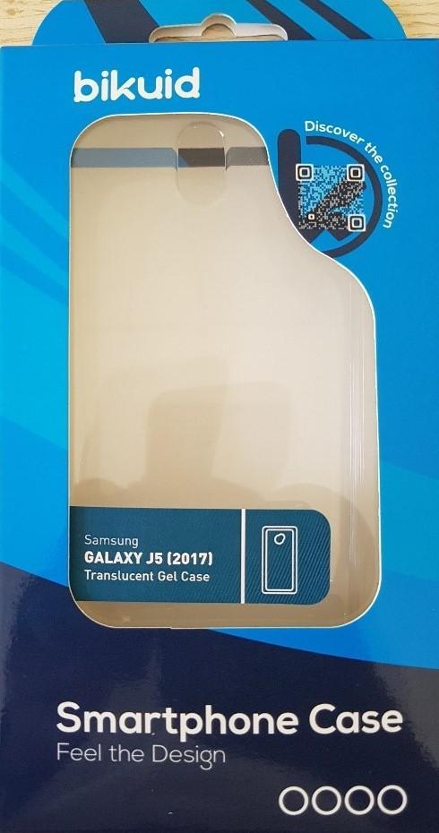 Bikuid Funda Gel Case Transparente Samsung J5 (2017)