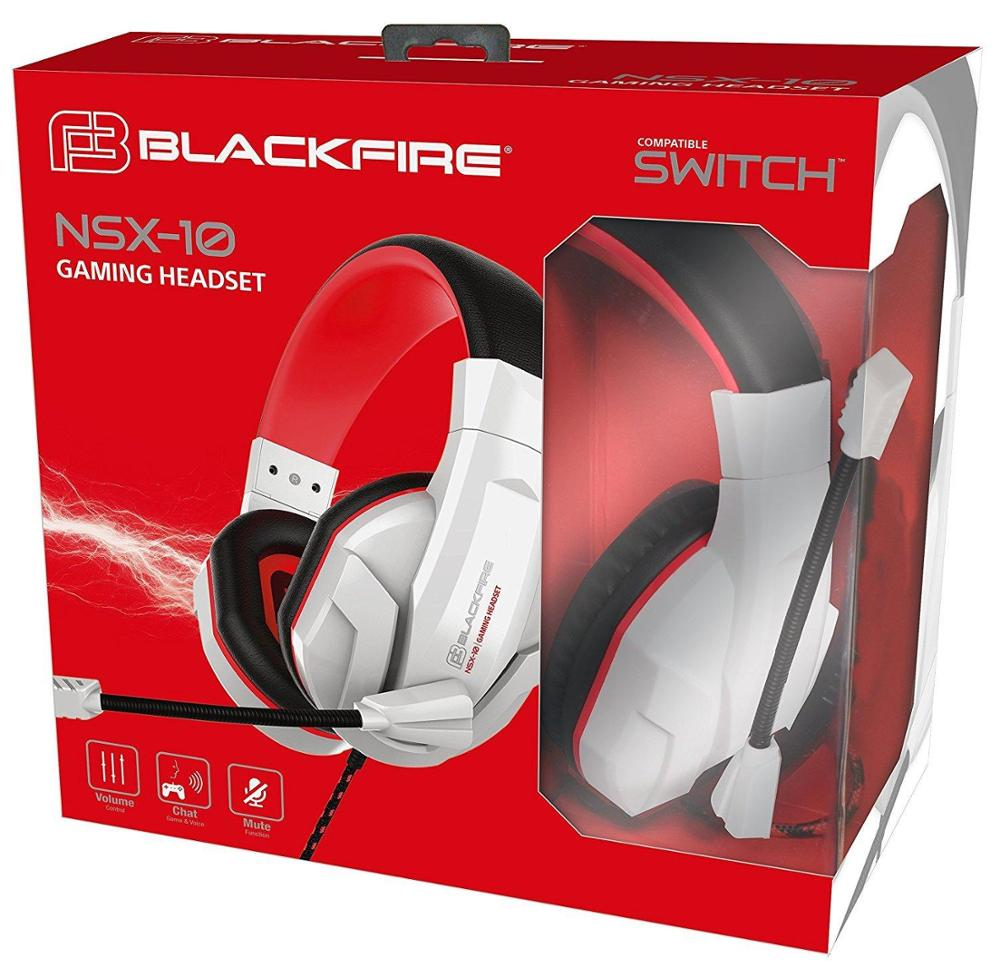 ARDISTEL BLACKFIRE GAMING HEADSET NSX-10 - BLANCO